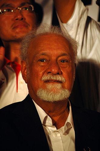 Karpal Singh - Karpal in Kuching in 2011.