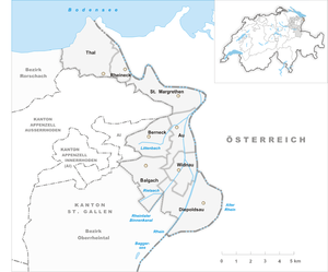 Map of the municipalities of the Lower Rhine Valley 2002.png