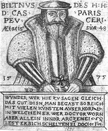 Caspar Peucer, Schwiegersohn und Mitarbeiter Melanchthons (Quelle: Wikimedia)