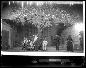 Kaspers Fet-Tisdag, Dramatiska teatern 1901. Föreställningsbild
