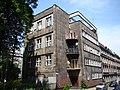 Katowice, Budynek będący pozostałością skrzydła mieszkalnego Muzeum Śląskiego ul. St. Kobylińskiego 5 05.JPG