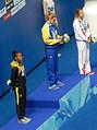 Kazan 2015 - Victory Ceremony 50m breaststroke W.jpg