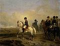 Keizer Napoleon I en zijn staf te paard Rijksmuseum SK-A-3910.jpeg