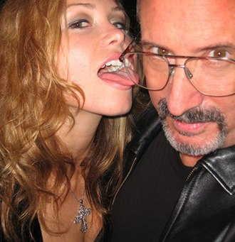 Ken Marcus - Ken Marcus with Heather Vandeven at AVN Awards Show