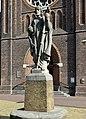 Kening Kristus (Wim Harzing), Bonifatiusplein, Ljouwert.jpg