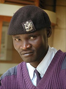 a kenyan private security guard