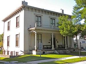 Samuel Freeman Miller - Miller's house in Keokuk