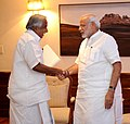 Kerala CM Oomen Chandy meets PM Modi.jpg