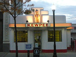 Picture of the Kewpee Restaurant in downtown L...
