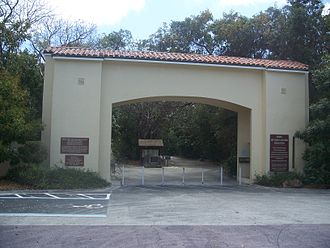 Dagny Johnson Key Largo Hammock Botanical State Park - Image: Key Largo FL Dagny Johnson Key SP entr 01