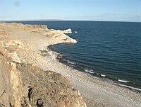 Khyargas-Nuur lake, Uvs aimag, Mongolia.JPG