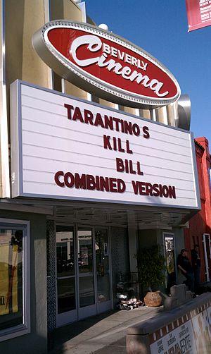 New Beverly Cinema - Kill Bill  at the New Beverly.