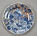 Kinesiskt porslinsfat, Qingdynastin - Hallwylska museet - 99451.tif