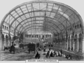 King's Cross Metropolitan Railway Station, Interior, 1862.png