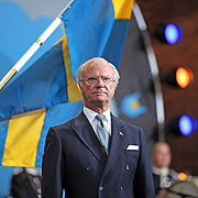 King Carl XVI Gustaf at National Day 2009