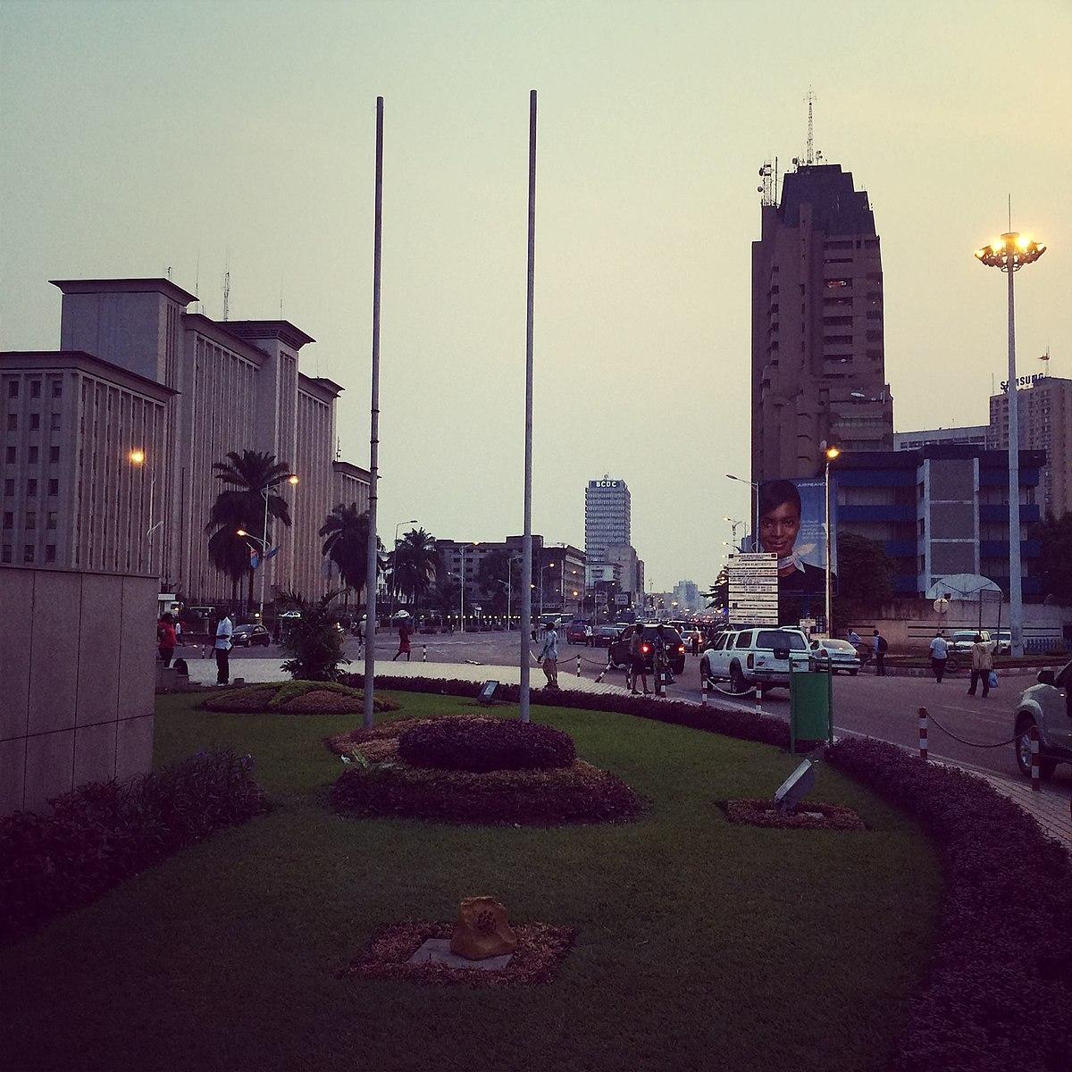 Kinshasa wikipedia for Construction de maison a kinshasa