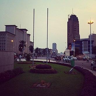 Emmerson Mnangagwa - Kinshasa, where Mnangagwa was often based during the Second Congo War.