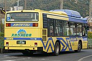 Kintetsu Bus 0502 rear Hino Motors Blue Ribbon City KL-HU2PMEEkai.jpg