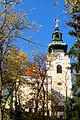 Kirchberg - Pfarrkirche hl. Stephan - im Herbst.jpg