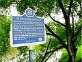 Kissing Bridge historic sign (32224298210).jpg