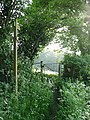 Kissing Gate to footpath of Yeld Lane Kington - geograph.org.uk - 11336.jpg