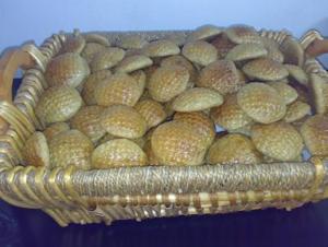 Saudi Arabian cuisine - Kleeja, a cardamom cookie