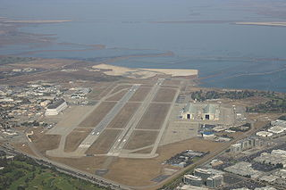 Joint civil-military airport in California