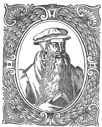 John Knox - Portrait of Knox from Theodore Beza's Icones