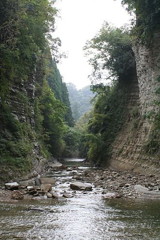 Ōtaki, Chiba - Yōrō Ravine
