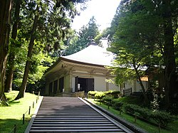 Chūson-ji, a World Heritage site in Hiraizumi