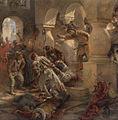 Konstantin Makovsky, The Murder of False Dmitry - detail 01.jpg