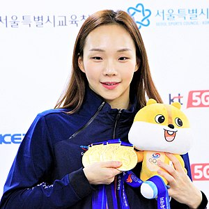 Korean swimmer Kim SeoYeong.jpg