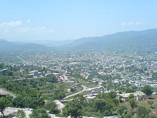 Kotli Town in Pakistan