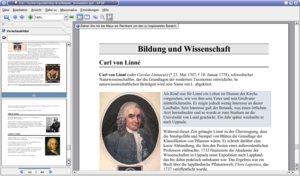 KPDF - Image: Kpdf screenshot