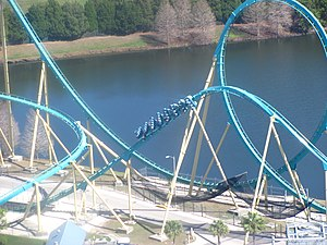 SeaWorld Orlando - Image: Kraken at Sea World Orlando 16