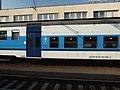 Kralupy nad Vltavou, nádraží, elektrická jednotka 451 v novém nátěru II.JPG