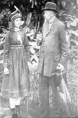 Sigismund Ernst Richard Krone - Richard Krone with his daughter Ana Maria Martins Krone (after marriage).
