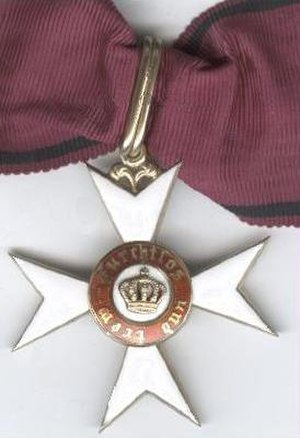 Order of the Crown (Württemberg) - Kommandeurskreuz