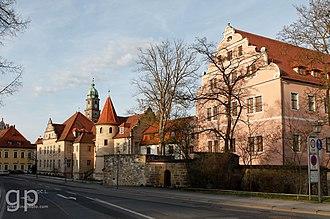 Electoral Palace, Amberg - Image: Kurfürstliches Schloss, Landratsamt Amberg