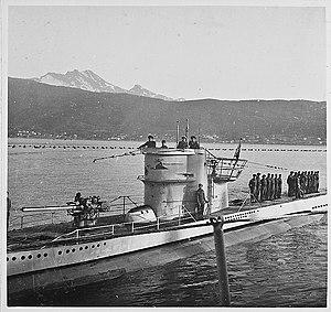 German submarine U-251 - Image: Kurz vor der Landung (Die U Boote laufen ein) (6983645898)