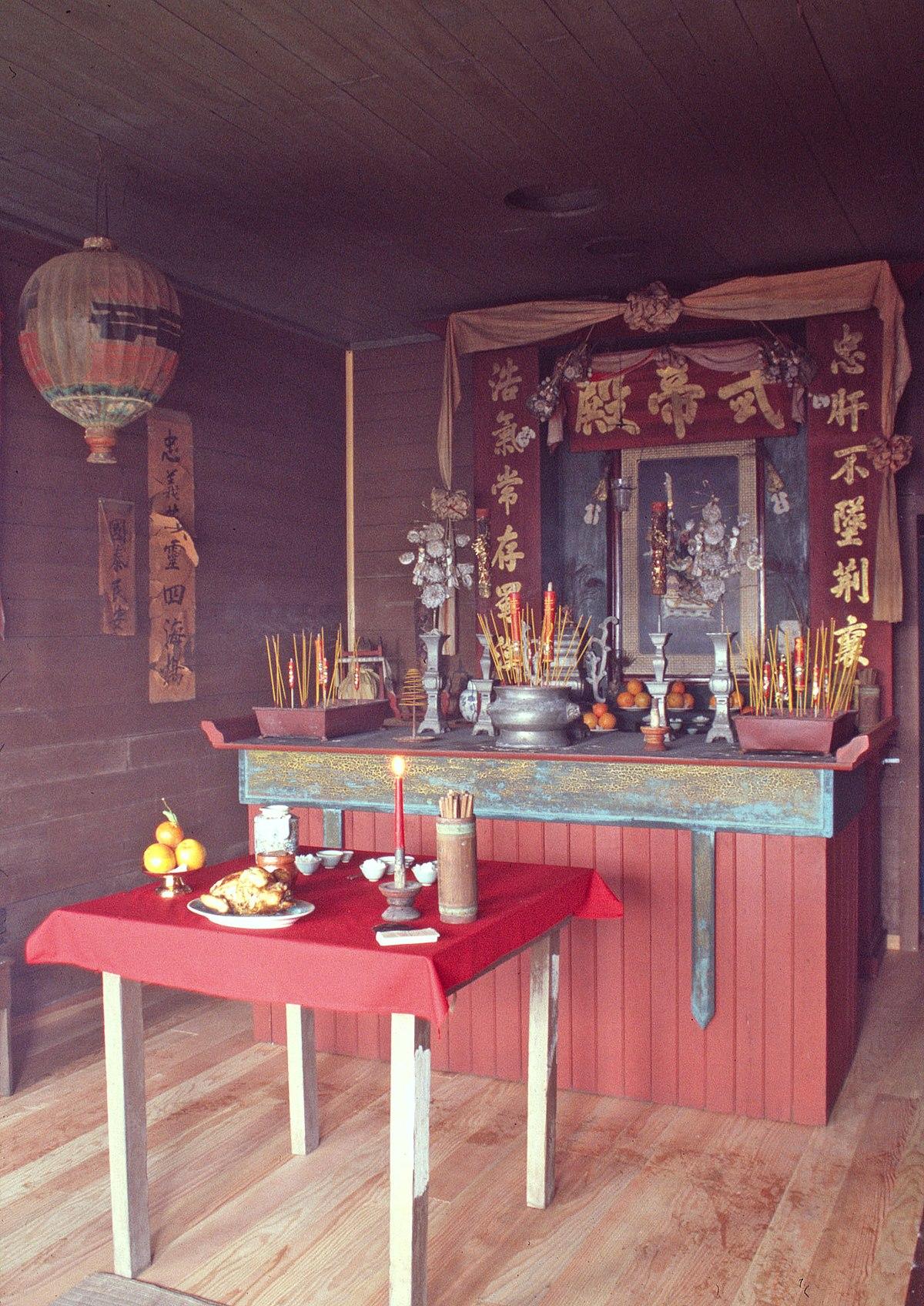 Temple Of Kwan Tai Wikipedia