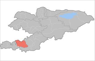 Kadamjay District Raion in Batken Region, Kyrgyzstan