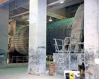 Rawmill - A dry process air-swept ball mill