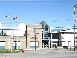 L A Matheson Secondary (entrance).jpg
