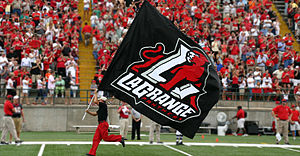LaGrange College - LaGrange Panther Flag