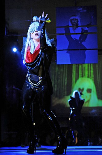 "The Fame - Gaga performing the lead single, ""Just Dance"" in a Montreal club. Before embarking on her first tour, Gaga had performed songs from the album in several small clubs."