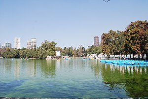 Miguel Hidalgo, Mexico City - Lake view in the first section of Chapultepec