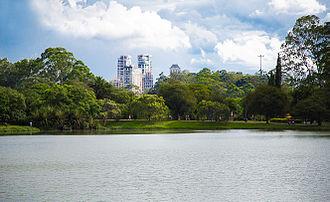 Ibirapuera Park - Image: Lago do Parque do Ibirapuera