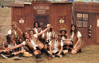 Laguna Niguel, California - Laguna Niguel Girl Scouts, 1975