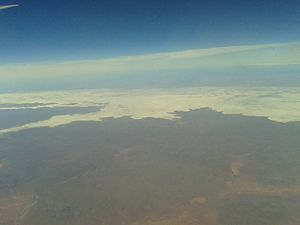 Lake Gairdner - Lake Gairdner, as viewed from the air.